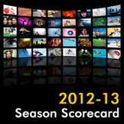 2012-13 TV Season Scorecard Image
