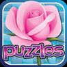 Flowers Puzzles - lily, rose, orchids and Sun Flower Image