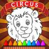 Circus Coloring Book Image