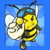 Angry Bee Battle Image