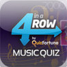 4 in a Row Music Quiz by QuizFortune Image