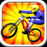 Downhill Mountain Bike Racer Image