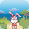 Cute Rabbit Run Image