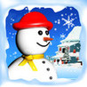 Snowman Land HD Image