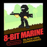 8-Bit Marine Image