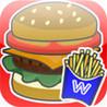 Today opening hamburger shop Image