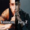 Eminem & Jay-Z: Rap Star Paparazzi Image