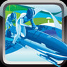 A sledge champion - is a race on the ice very exciting, test your skills on the track that is crazy Image