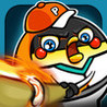 Home Run Hitters - Penguin Rush! Flick Baseball Image