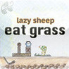 lazy sheep eat grass Image