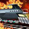 Action Train Rocket Railroad - Track Jumping Subway Run & Race - Multiplayer Game Image