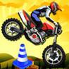 Acclive Motorbike Jumps - GTI Motorcycle Turbo Moto Game Image