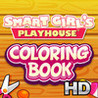 Smart Girl's Playhouse Coloring Book HD Image