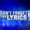Don't Forget the Lyrics Image