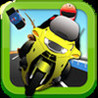 Awesome Racer Dude High Speed Motorcycle Police Chase Image
