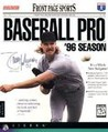 Front Page Sports: Baseball Pro '96 Season Image