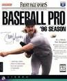 Front Page Sports: Baseball Pro '96 Season Image
