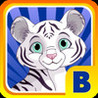 Baby White Tiger Bounce : Sky Dash with Mittens the Super Sonic Cub Image
