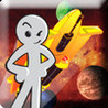 Stickman Space Shooter Blaster Image