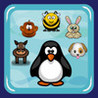 Animal Snake: penguin, bee, dog, monkey, rabbit, horse Image
