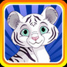 Baby White Tiger Run : Dash Race with Mittens the Super Sonic Cub Image
