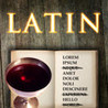 Latin Word Search Image