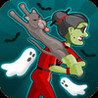 Angry Gran Halloween Image