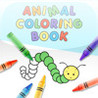 Animal Coloring Book Image