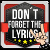 Dont Forget the Lyrics Image