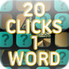 20 Clicks 1 Word Image