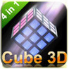 3D CUBE PUZZLE 4in1 HD! Image