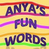 Anya's Fun Words Image