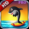 A Dolphin Journey Surfing and Flying  - HD PRO Image