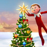Decorate the Christmas tree with Elf on the Shelf, Christmas Game Image