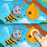 Find the Difference for Kids and Toddlers - Animal Farm Photo Hunt and Learning Game Image