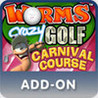 Worms Crazy Golf: Carnival Course Image