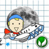 A Doodle Fly - Fly to the Moon Image
