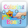Coloring Board, drawing for kids, Water Animals Edition Image