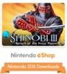 3D Shinobi III: Return of the Ninja Master Image
