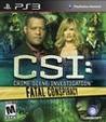 CSI: Crime Scene Investigation: Fatal Conspiracy Image