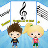 Music Minds: Flashcards with Calvin & Zoey Image
