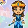 Princess Dress Up Coloring Book Image