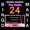 BINGO MANIA - The Raffle for Prize Image