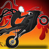 A Bike Race of Slender Man's Temple - Pro Racing Game Image
