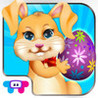 Easter Bunny Dress Up and Card Maker - Decorate Funny Bunnies & Eggs and Share with Friends Image
