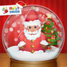 Christmas Snow Globes for kids: by Happy Touch Image