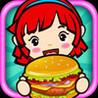 Hamburger Girl Image