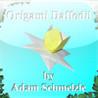Origami Daffodil Image