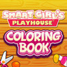 Smart Girl's Playhouse Coloring Book Image