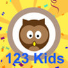 123 kids write Image